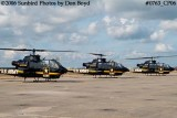 Army Aviation Heritage Foundation's Sky Soldiers Bell AH-1 Cobras air show stock photo #0763