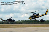 Army Aviation Heritage Foundation's Sky Soldiers Bell AH-1 Cobras air show stock photo #0768