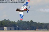 Dale Snodgrass performing in his F-86 air show stock photo #2371