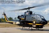Army Aviation Heritage Foundation's Sky Soldiers Bell AH-1 Cobra air show stock photo #2388