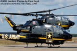 Army Aviation Heritage Foundation's Sky Soldiers Bell AH-1 Cobras #23233 N233LE #20998 air show stock photo #2412