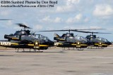 Army Aviation Heritage Foundation's Sky Soldiers Bell AH-1 Cobras air show stock photo #2414