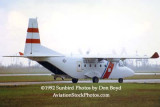 1992 - USCG CASA 212-300 N393DF taxiing during Coast Guard operations after Hurricane Andrew