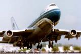 Mid 80's - Varig B747-2L5BM PP-VNA airline aviation stock photo