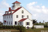2007 - Former Coast Guard Station Lake Worth Inlet house on Peanut Island building stock photo #0769