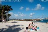 2007 - East side beach on Peanut Island recreation stock photo #0860