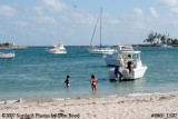 2007 - East side beach on Peanut Island County Park recreation stock photo #0865