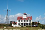 2007 - South side view of former Coast Guard Station Lake Worth Inlet house building stock photo #0869