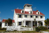 2007 - South side view of former Coast Guard Station Lake Worth Inlet building stock photo #0871