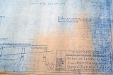 2007 - 1938 Blueprints for Mosquito Lagoon Coast Guard Station stock photo #0875