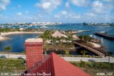2007 - View of inlet from former 4th floor Watch Tower at former Coast Guard Station Lake Worth Inlet stock photo #0888