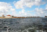 2007 - Southwest view of former Coast Guard Station Lake Worth Inlet on Peanut Island landscape stock photo #0906