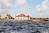 2007 - Southwest view of former Coast Guard Station Lake Worth Inlet on Peanut Island landscape stock photo #0907