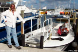 2007 - Captain Joe Montalbano of the Peanut Island Ferry stock photo #0912