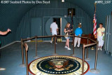 2007 - Interior of the John F. Kennedy Bomb Shelter on Peanut Island photo #0892