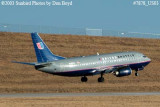 United Airlines Shuttle B737-322 N395UA airline aviation stock photo #7878