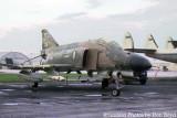1975 - USAF F-4E-33MC #67-0215 Phantom and tail of Lockheed Constellation