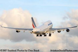 2007 - Air France B747-428M F-GISC airline aviation stock photo #3064