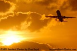 Air Jamaica Airbus A321 airline sunset aviation stock photo #3074