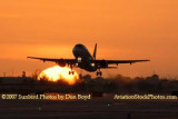 2007 - TAM Airbus A320-232 PR-MAP airline sunset aviation stock photo #3093