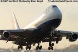 2007 - British Airways B747-436 airline aviation stock photo #3051
