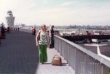 1973 - Public observation deck at LaGuardia Airport, New York