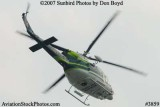 Miami-Dade Fire Rescue's Bell 412EP N911RA helicopter stock photo #3859