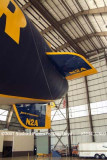 Tail section of Goodyear Blimp GZ-20A N2A Spirit of Innovation aviation stock photo #2254