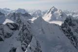 Styx Mt (Foreground) & Snowside (R Background), View SSW  (MonarchIceFld040307-_461.jpg)