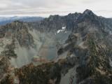 Gilbert, N Face Rock Glacier & Glacier Remnant (Gilbert102105-13adj2.jpg)