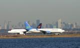 XL Airways 737-800 taking off, JFK, March 2007