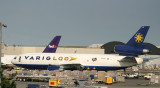 Varig Cargo DC-10 parked at JFK cargo area.  My DC-10 catch has been empty for more than a year before getting this one.