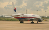 MH 777 commencing its taxi, PVG, Sept 2007