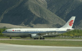 CA A-330 arriving in Lhasa, LXA