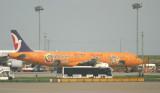Air Macau's special livery A-321