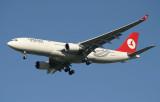 Turkish A-330 approaching JFK