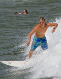 Surfer on theJersey shore