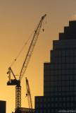 Crane over NY