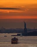 NY Harbor Sunset