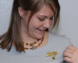 Natalie's teacher pin