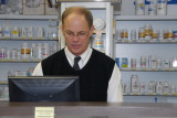 Linie's last day behind the counter