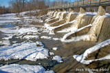 Frozen Spillway on Lake Loramie