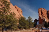 Taking a stroll in the Garden of the Gods