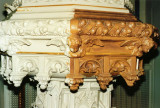 Painting the Baptismal Font
