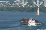 Coal Barge on the Ohio River 3