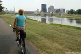Approaching Downtown Dayton