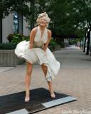 Marilyn strikes a pose.