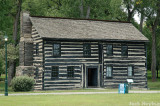 The Old Newcom Tavern (built in 1796) in Carrilon Park (Dayton's oldest standing building)