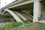 New Bridge over the Stillwater River and the Bike Path