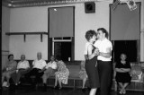 Gilbert Hilgefort (seated with leg crossed), Edna & Fred Bruns dancing